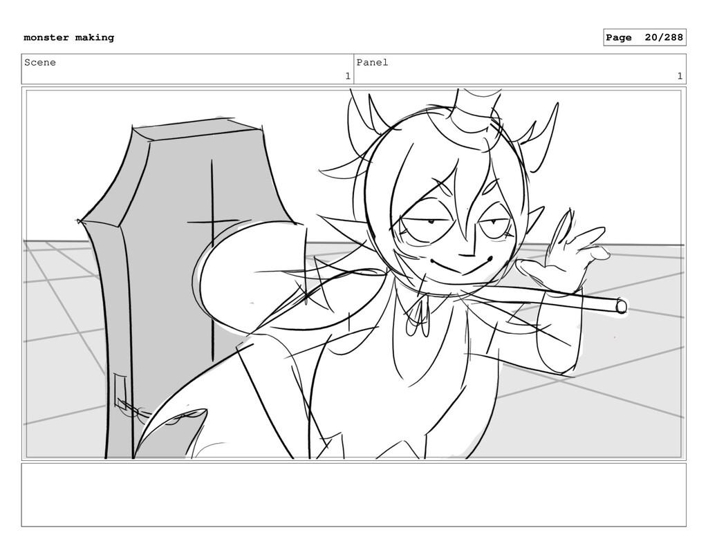 Scene 1 Panel 1 monster making Page 20/288