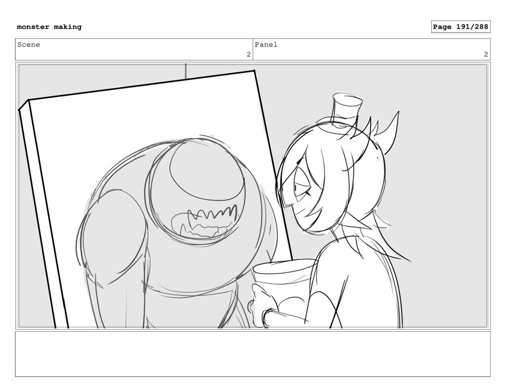 Scene 2 Panel 2 monster making Page 191/288