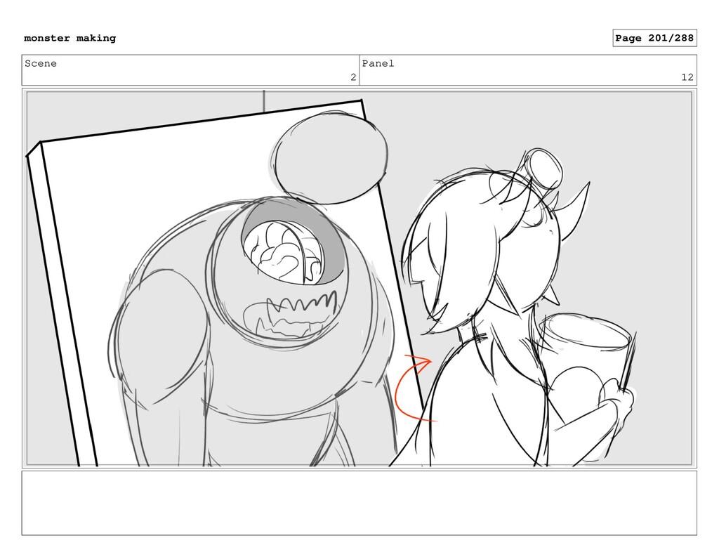 Scene 2 Panel 12 monster making Page 201/288