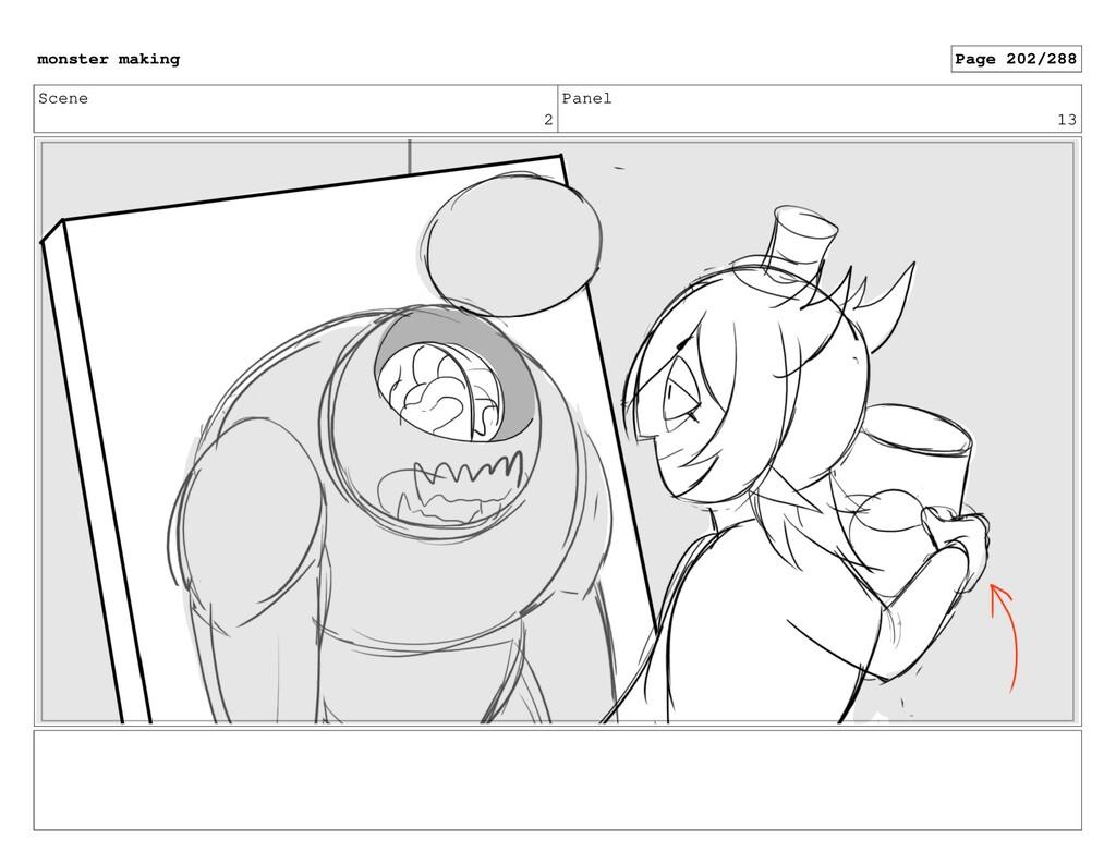 Scene 2 Panel 13 monster making Page 202/288