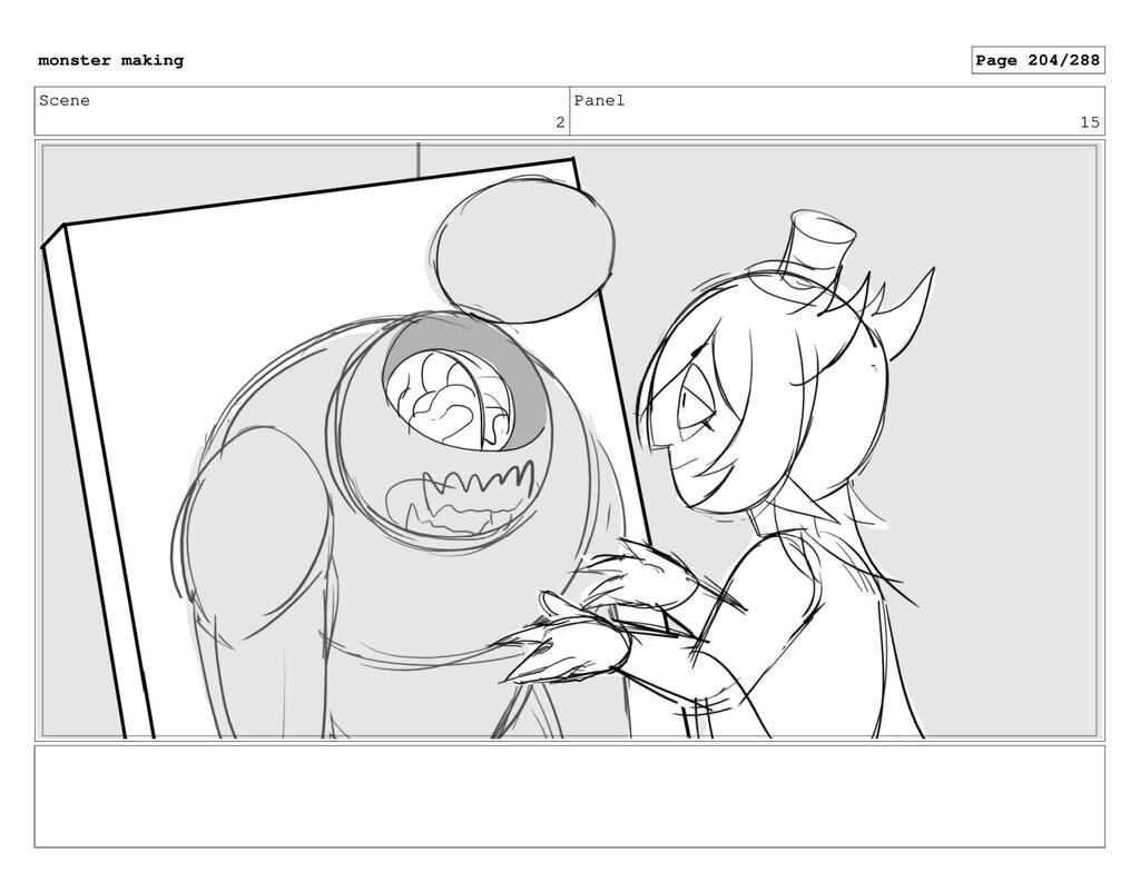 Scene 2 Panel 15 monster making Page 204/288