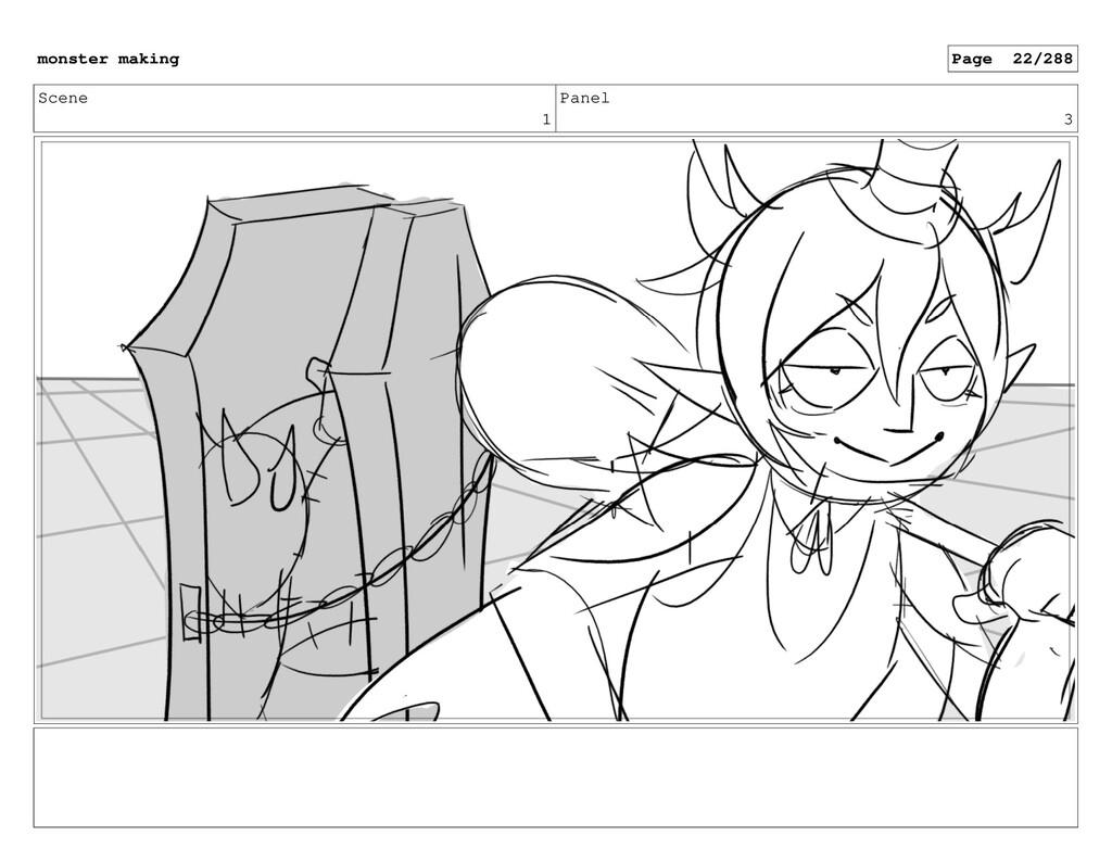Scene 1 Panel 3 monster making Page 22/288