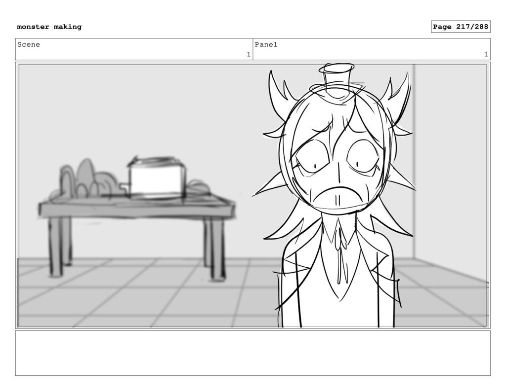 Scene 1 Panel 1 monster making Page 217/288