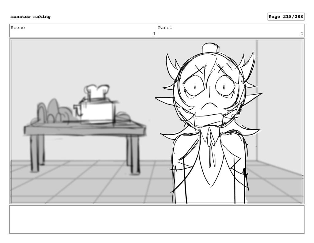 Scene 1 Panel 2 monster making Page 218/288