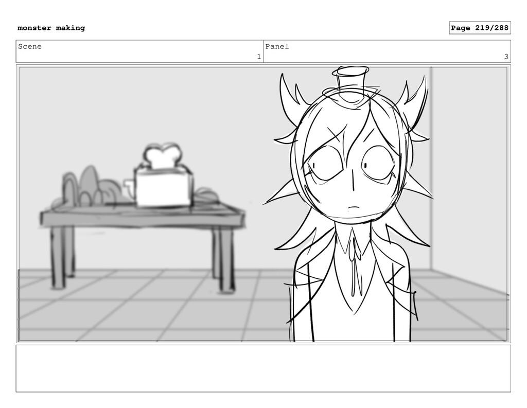 Scene 1 Panel 3 monster making Page 219/288