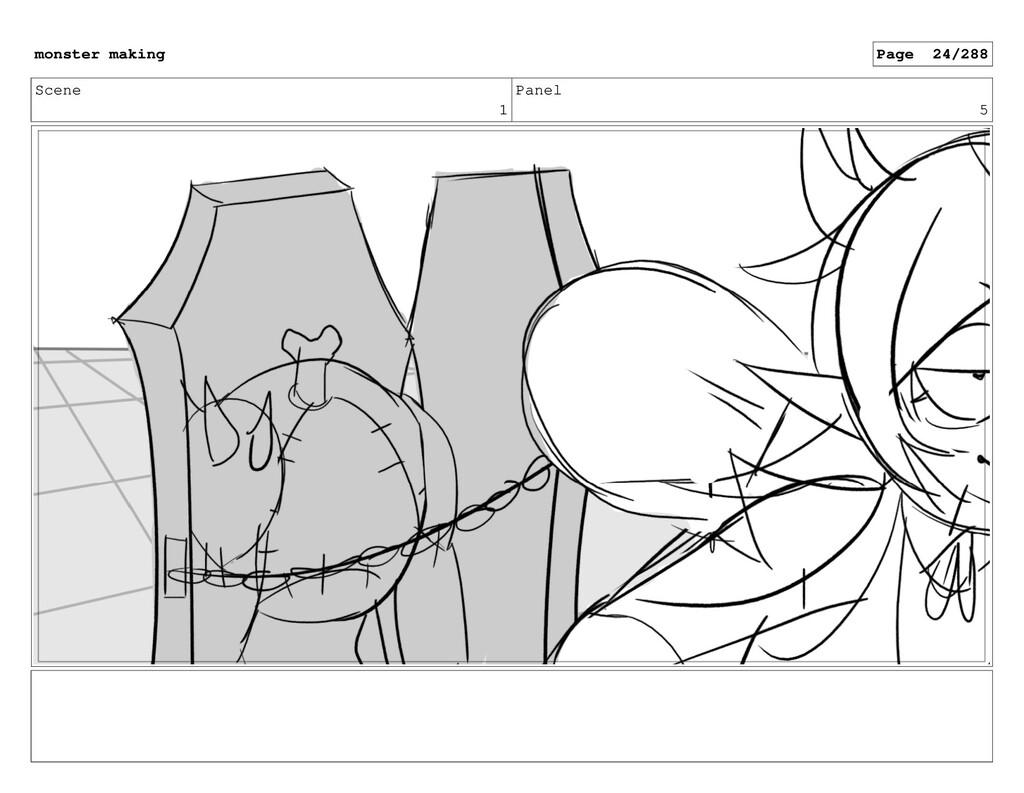 Scene 1 Panel 5 monster making Page 24/288