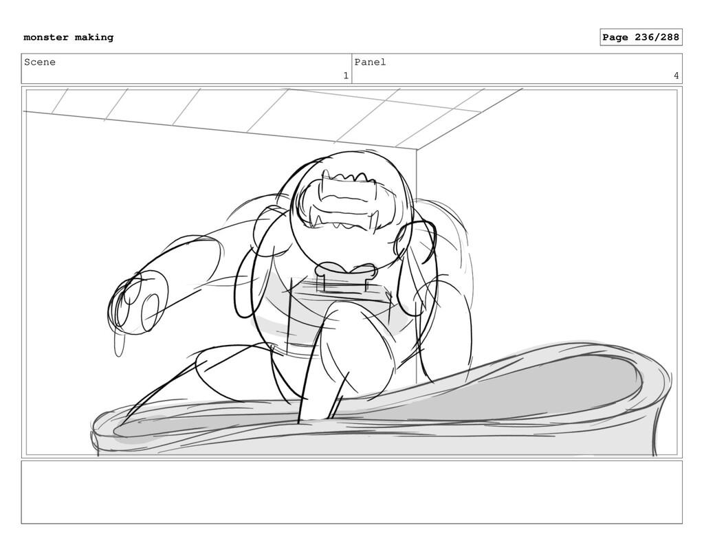 Scene 1 Panel 4 monster making Page 236/288