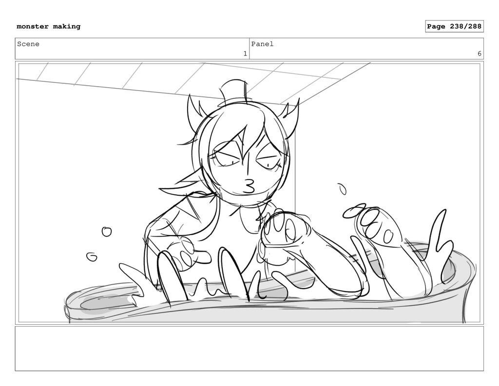 Scene 1 Panel 6 monster making Page 238/288