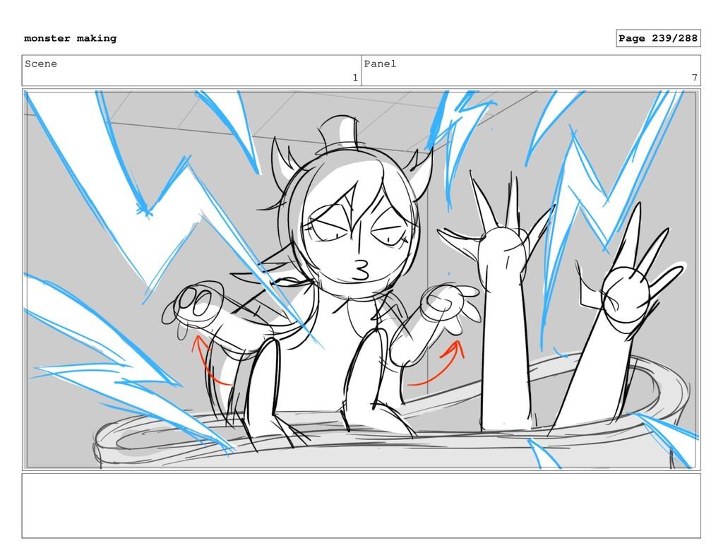Scene 1 Panel 7 monster making Page 239/288