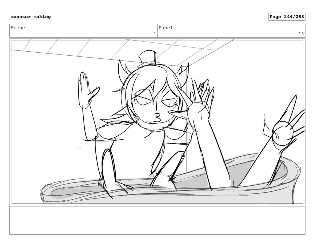 Scene 1 Panel 12 monster making Page 244/288