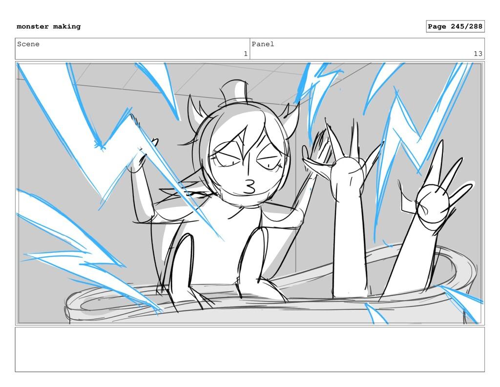 Scene 1 Panel 13 monster making Page 245/288