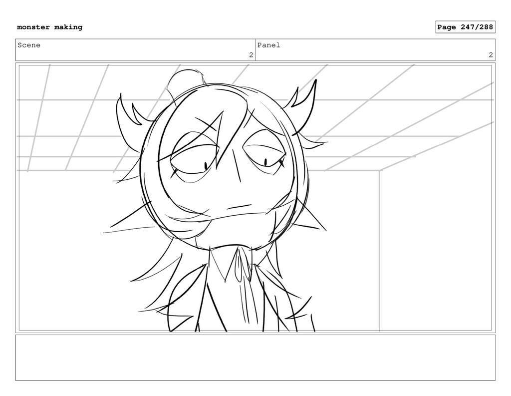 Scene 2 Panel 2 monster making Page 247/288