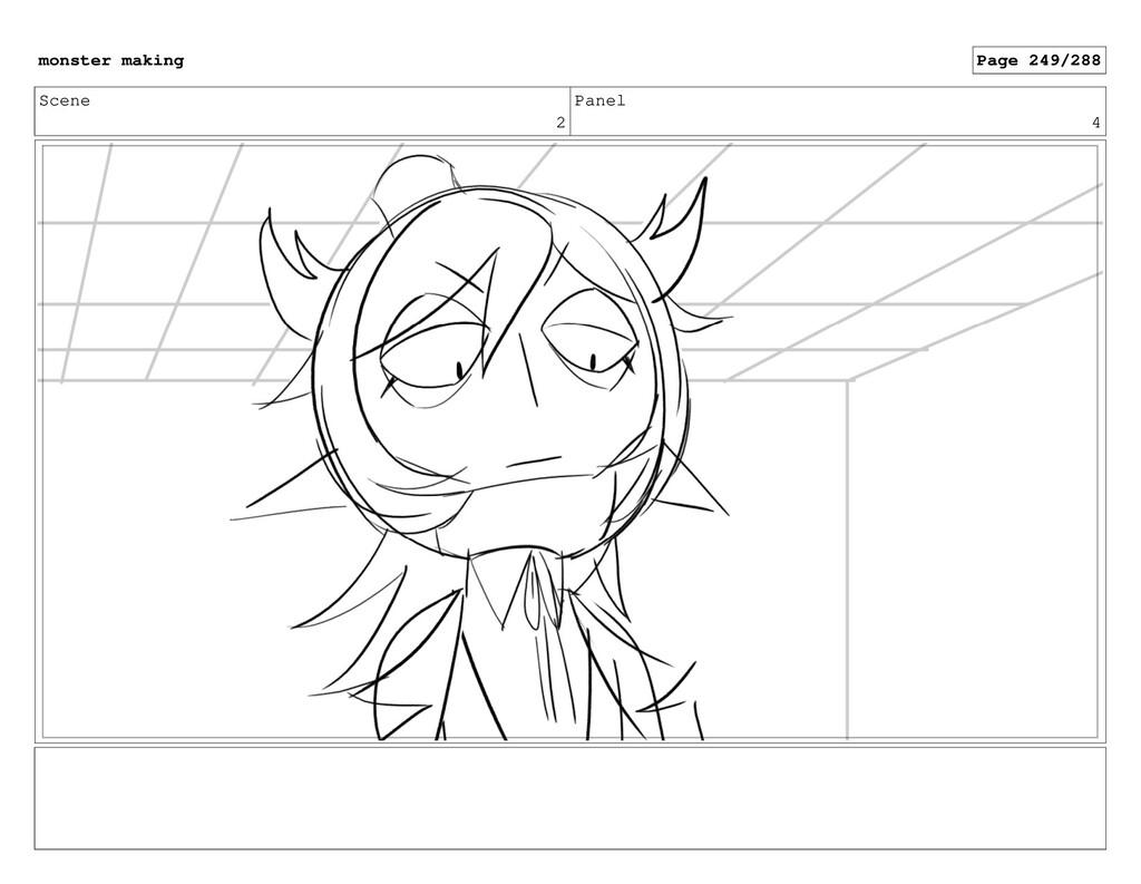 Scene 2 Panel 4 monster making Page 249/288
