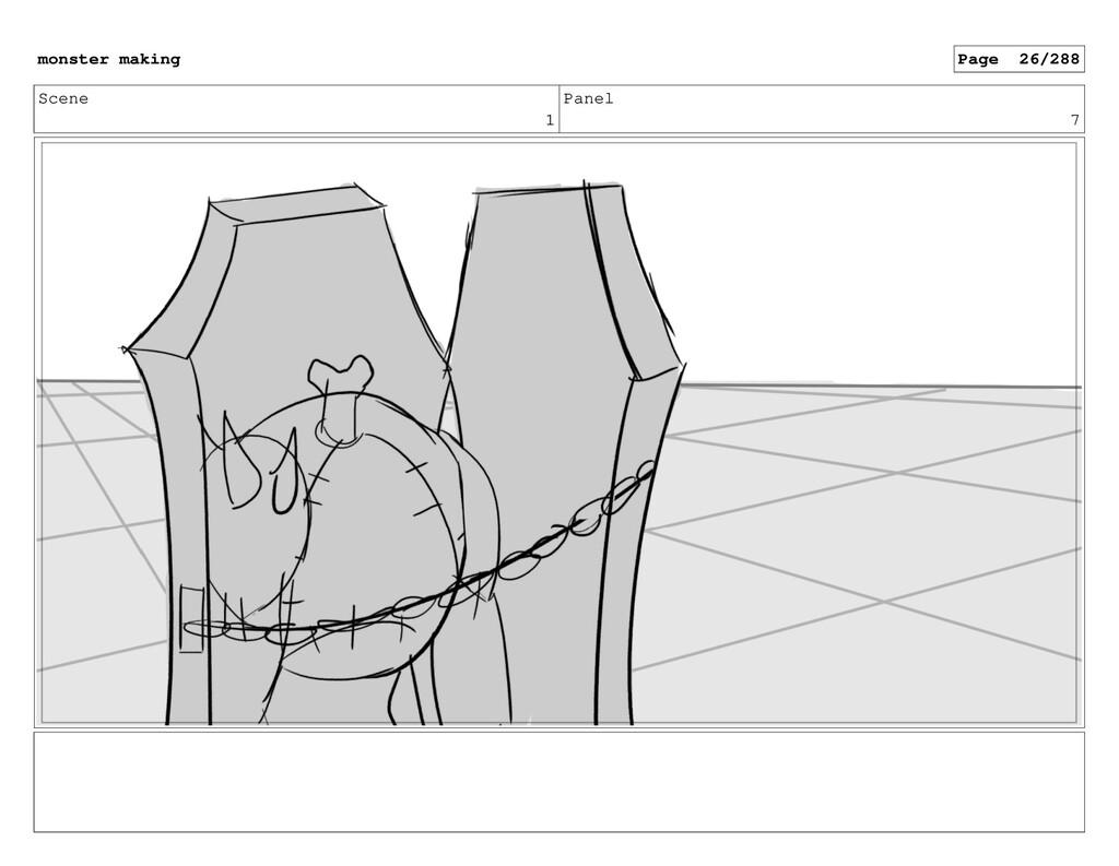 Scene 1 Panel 7 monster making Page 26/288