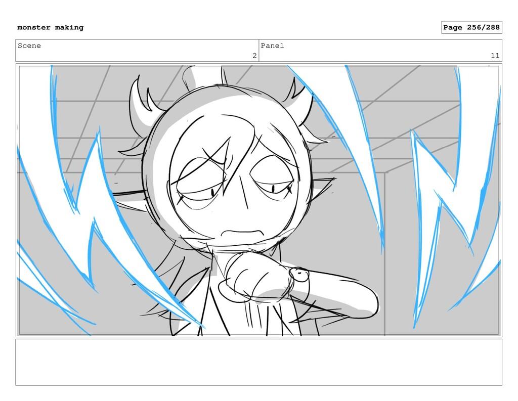 Scene 2 Panel 11 monster making Page 256/288
