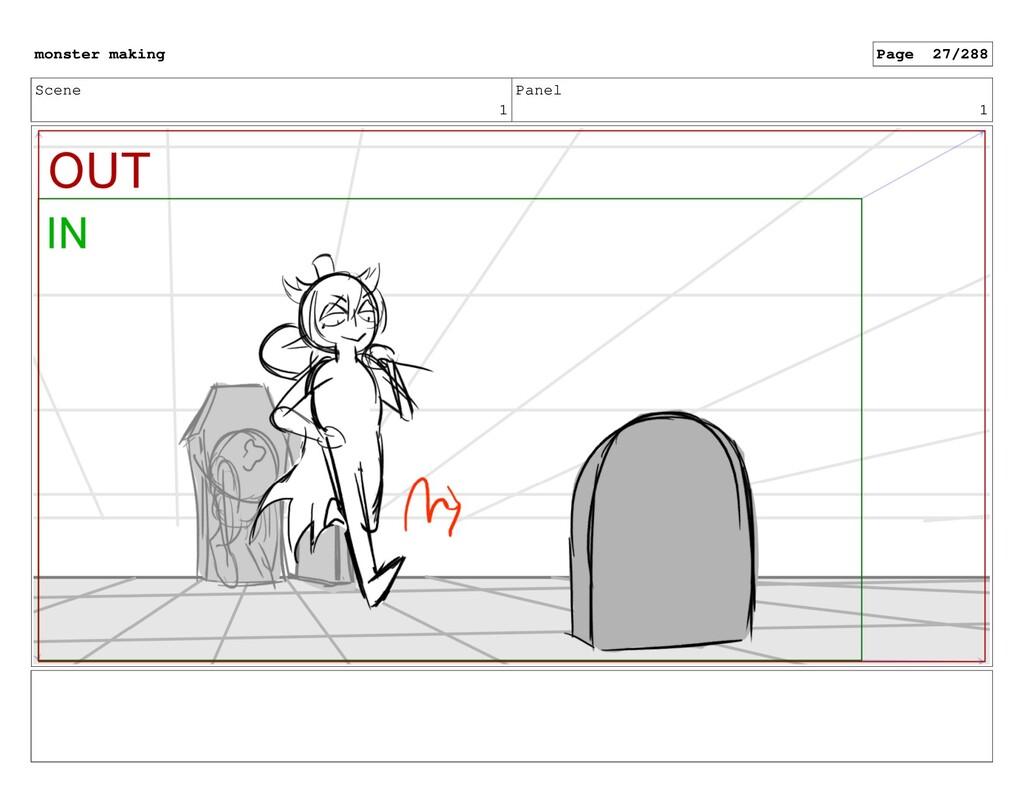 Scene 1 Panel 1 monster making Page 27/288
