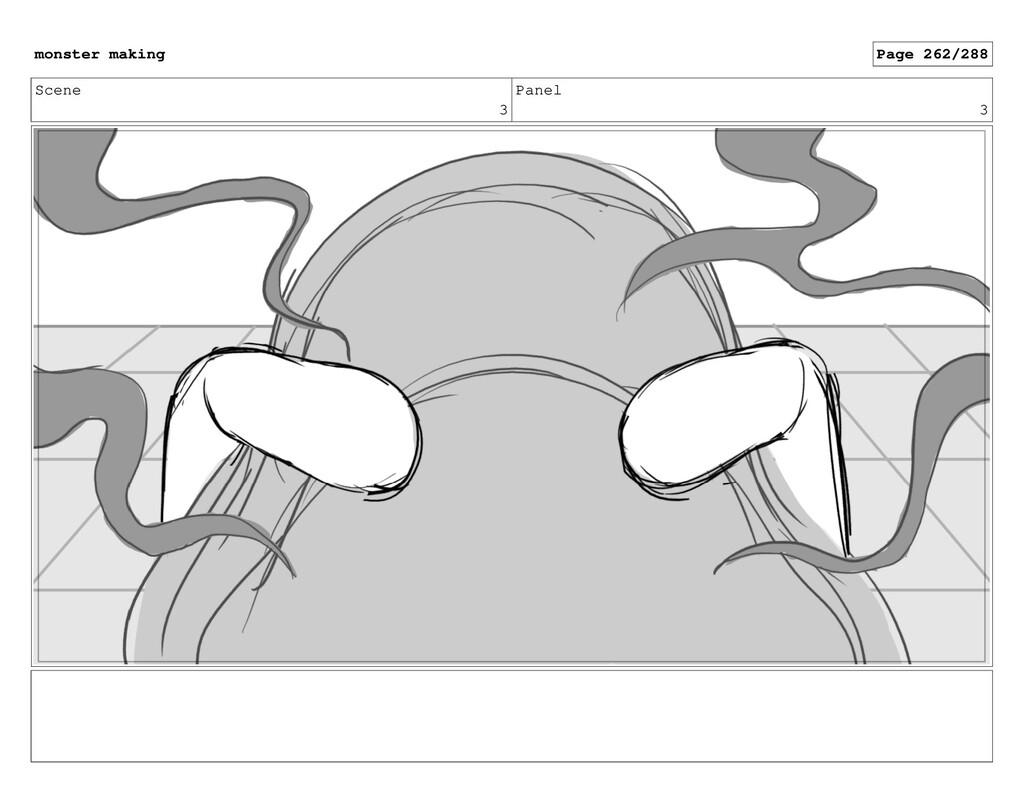 Scene 3 Panel 3 monster making Page 262/288