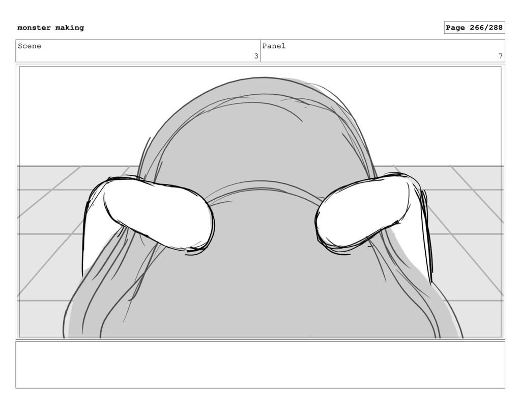 Scene 3 Panel 7 monster making Page 266/288