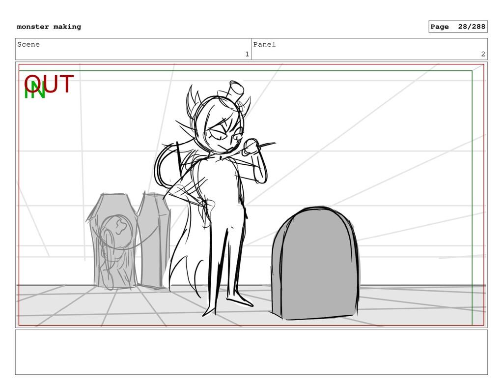 Scene 1 Panel 2 monster making Page 28/288