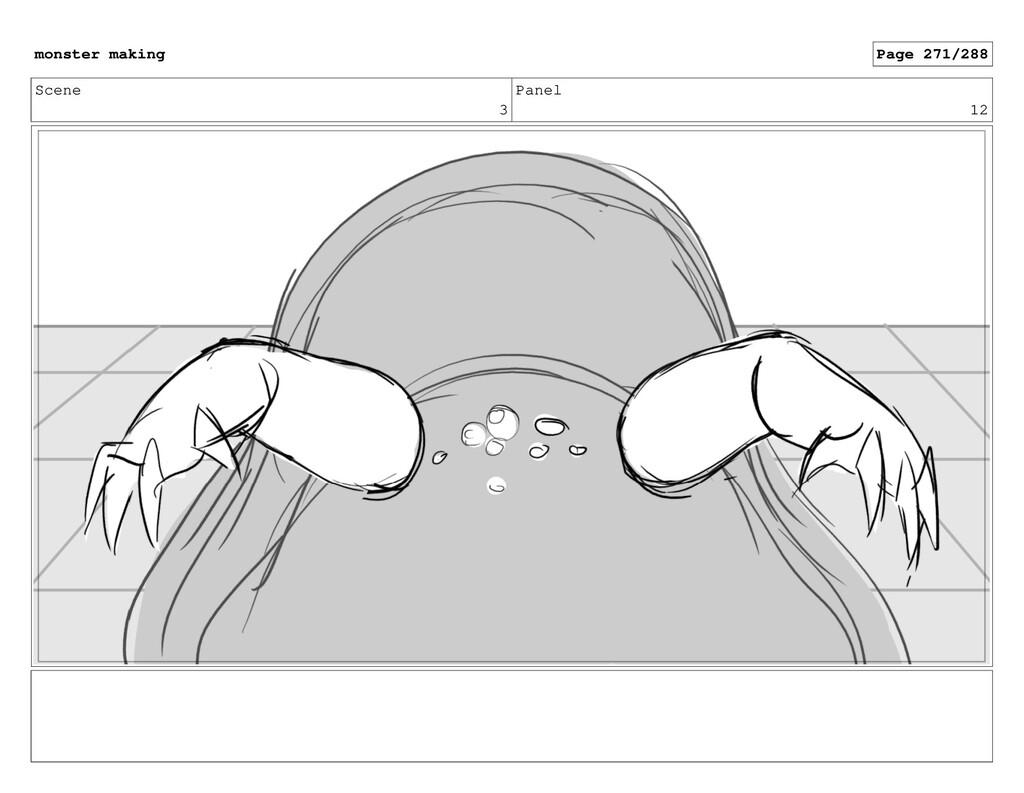Scene 3 Panel 12 monster making Page 271/288