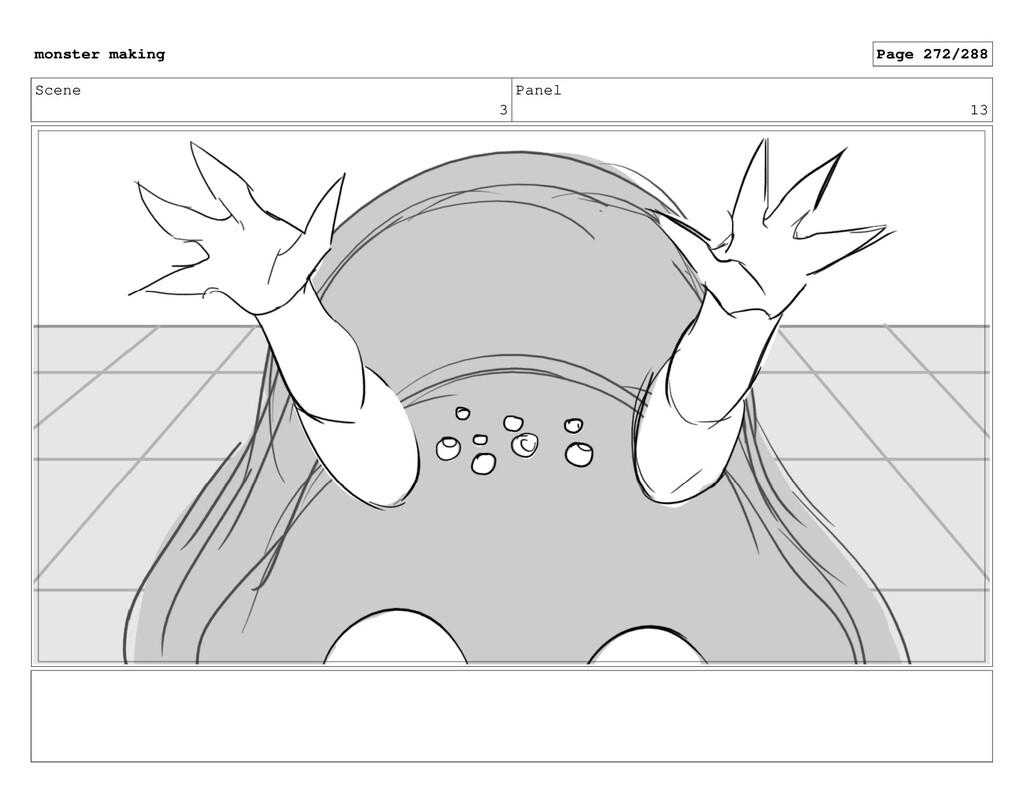 Scene 3 Panel 13 monster making Page 272/288