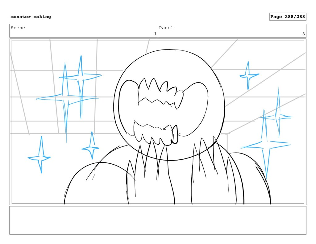 Scene 1 Panel 3 monster making Page 288/288