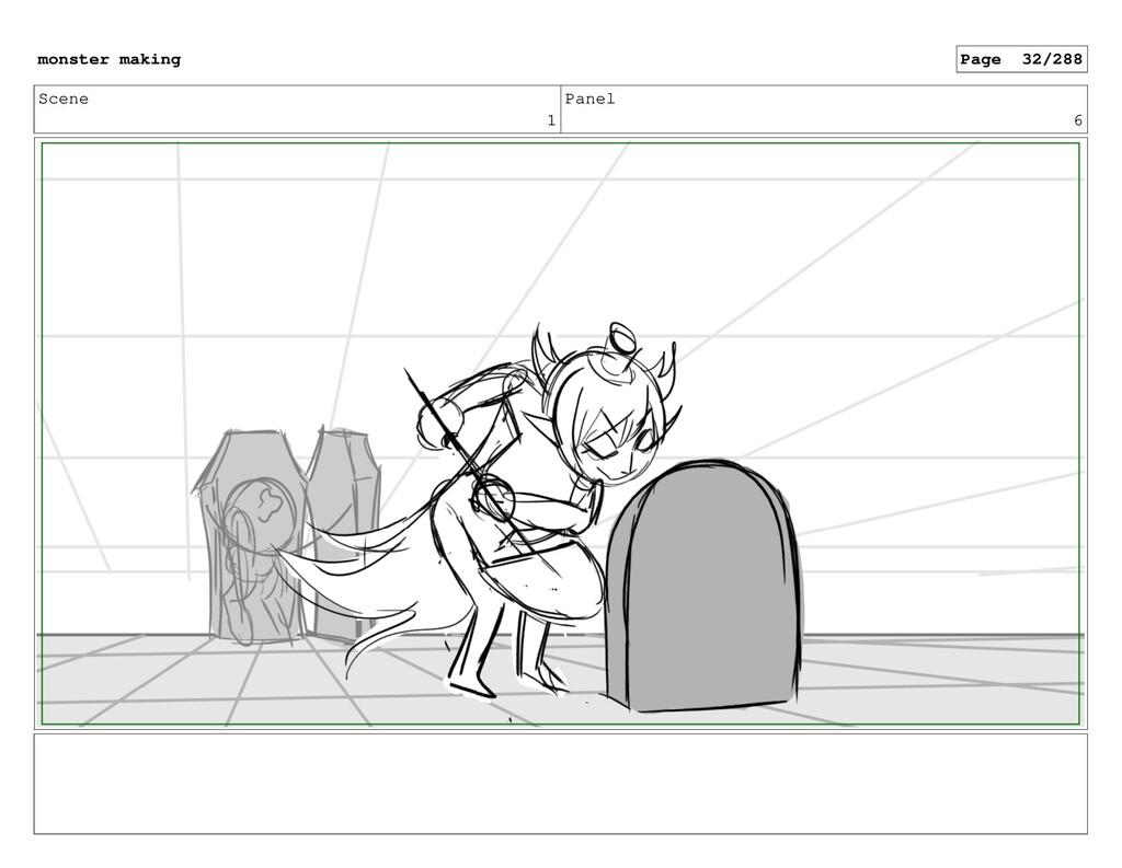 Scene 1 Panel 6 monster making Page 32/288
