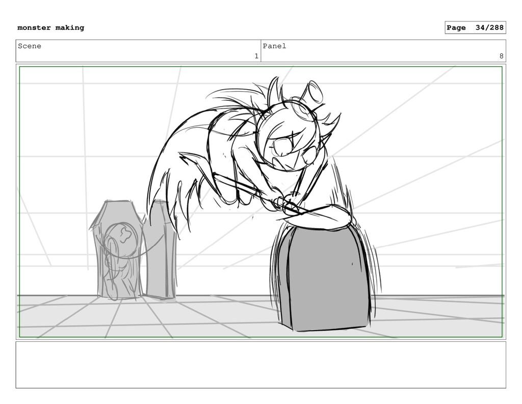 Scene 1 Panel 8 monster making Page 34/288