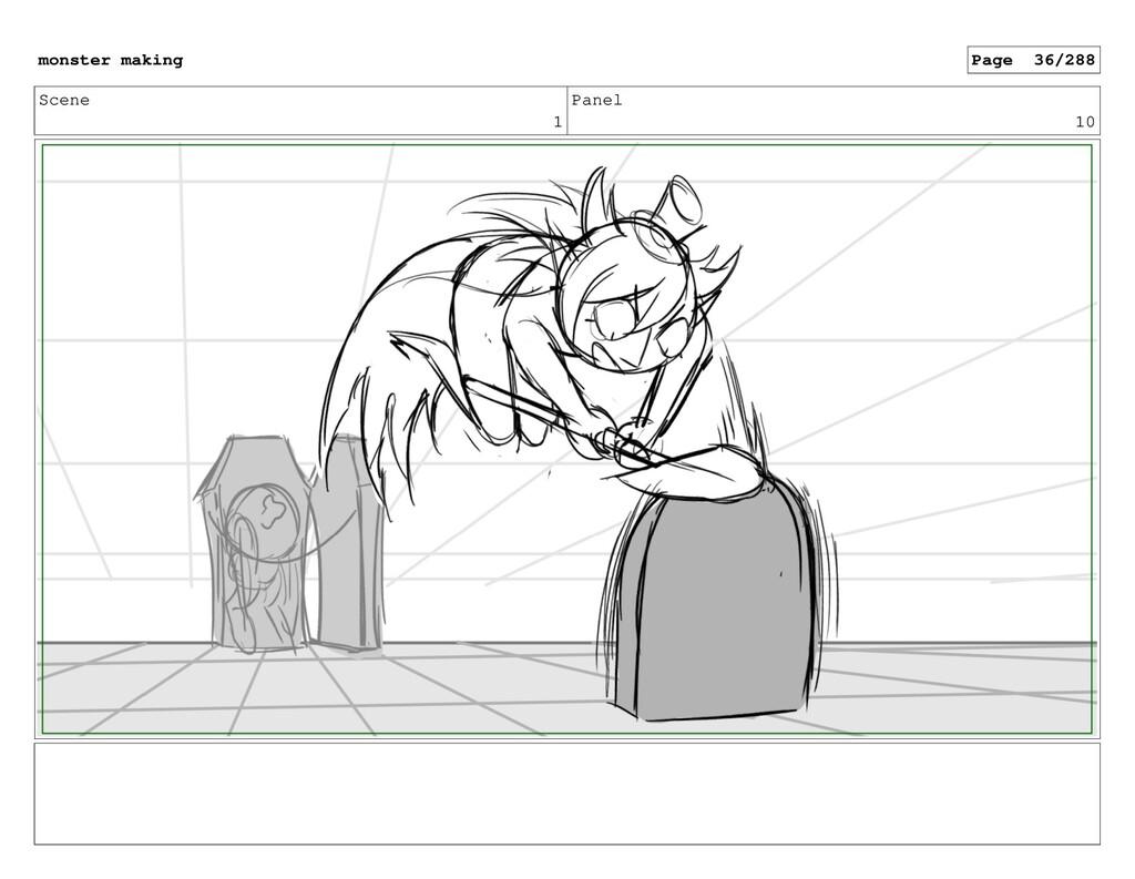 Scene 1 Panel 10 monster making Page 36/288