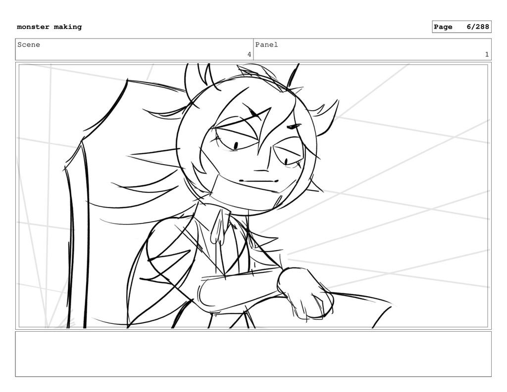 Scene 4 Panel 1 monster making Page 6/288