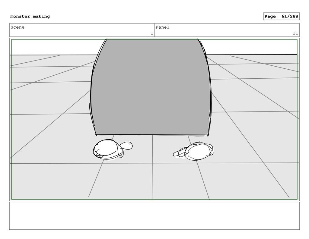 Scene 1 Panel 11 monster making Page 61/288