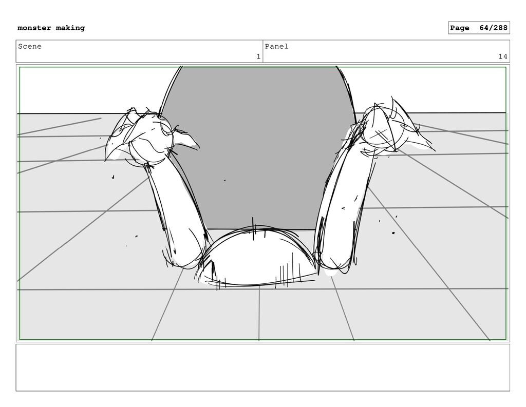 Scene 1 Panel 14 monster making Page 64/288