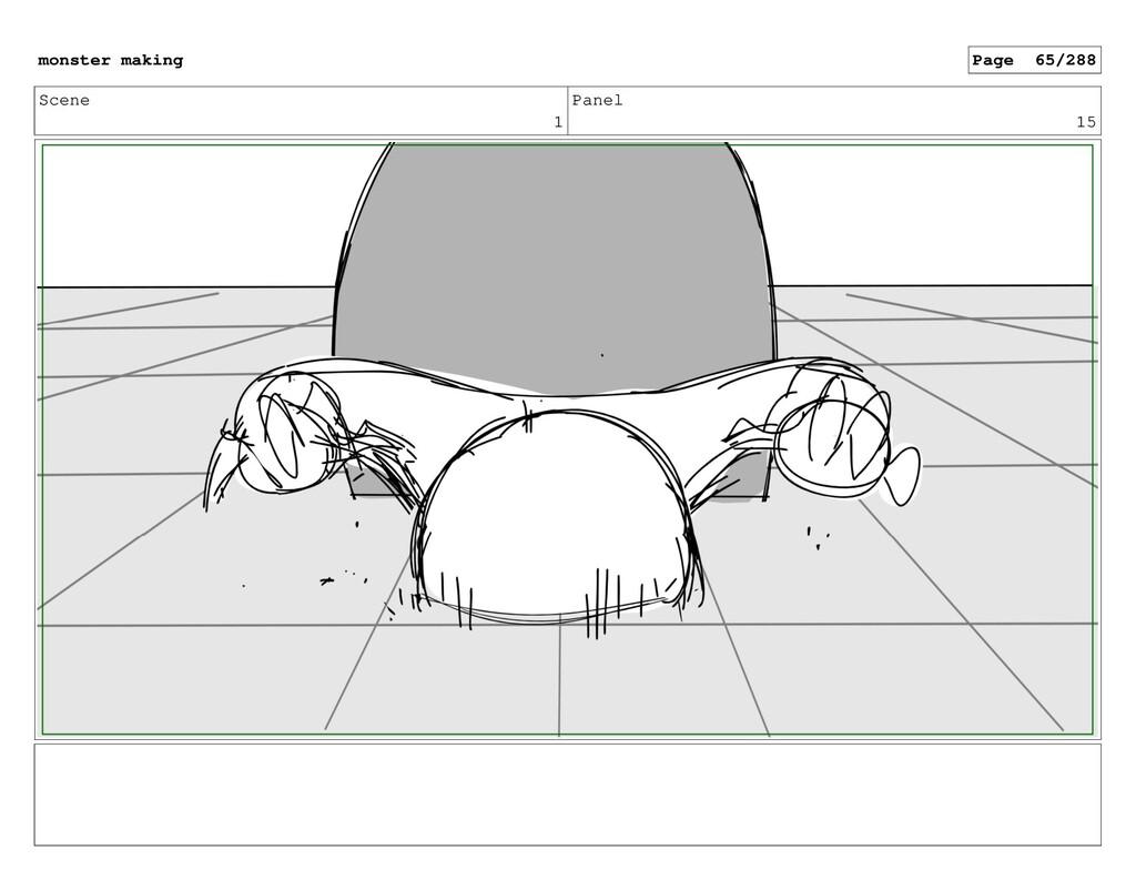 Scene 1 Panel 15 monster making Page 65/288
