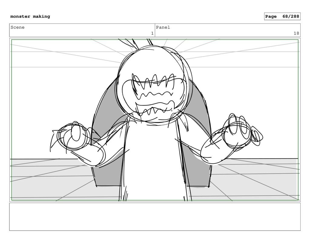 Scene 1 Panel 18 monster making Page 68/288