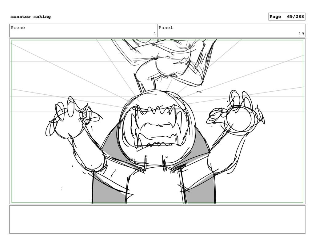 Scene 1 Panel 19 monster making Page 69/288