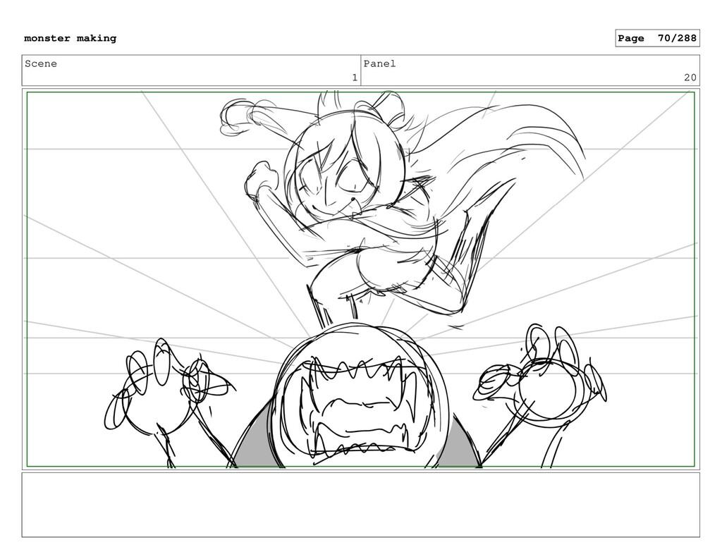 Scene 1 Panel 20 monster making Page 70/288