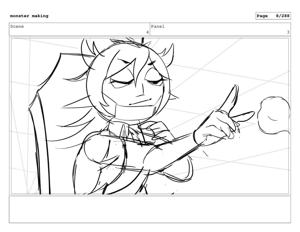 Scene 4 Panel 3 monster making Page 8/288