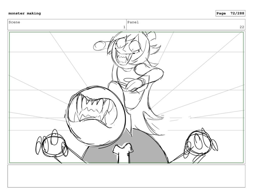 Scene 1 Panel 22 monster making Page 72/288