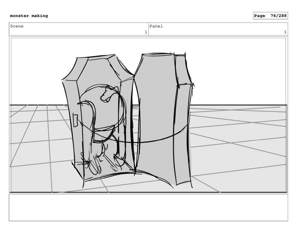 Scene 1 Panel 1 monster making Page 76/288