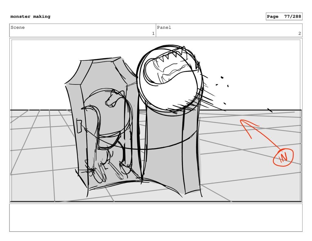 Scene 1 Panel 2 monster making Page 77/288