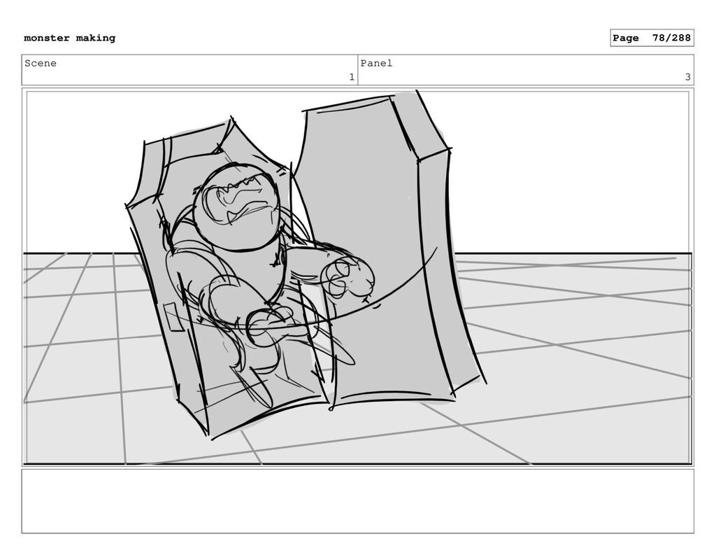 Scene 1 Panel 3 monster making Page 78/288