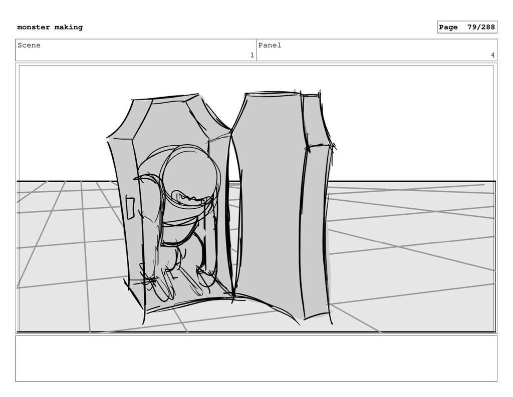 Scene 1 Panel 4 monster making Page 79/288