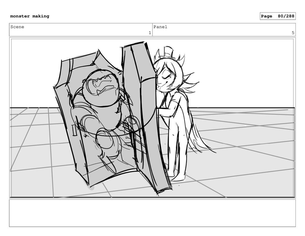 Scene 1 Panel 5 monster making Page 80/288