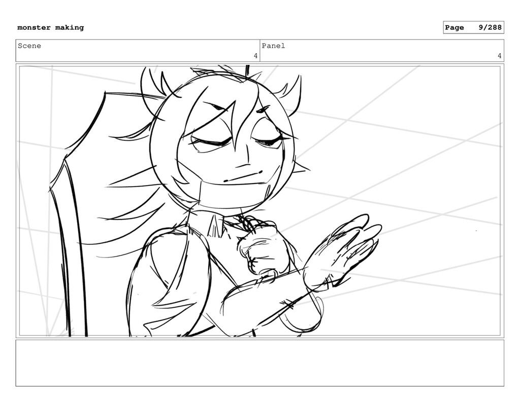 Scene 4 Panel 4 monster making Page 9/288