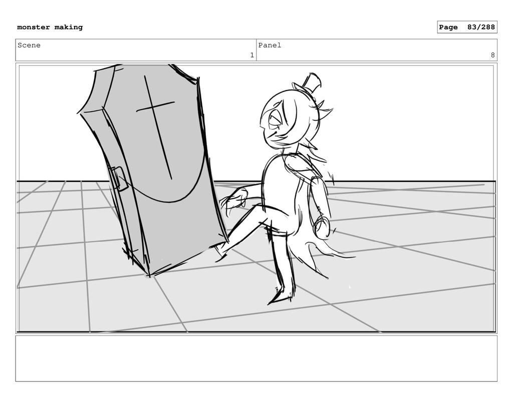 Scene 1 Panel 8 monster making Page 83/288