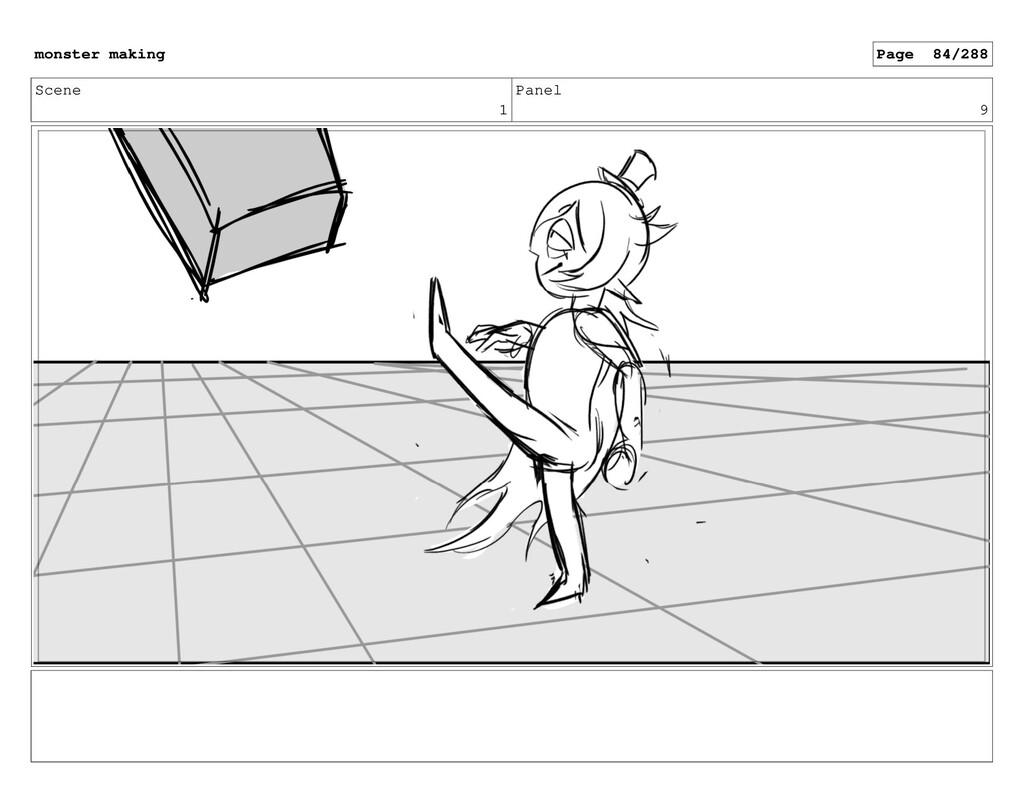 Scene 1 Panel 9 monster making Page 84/288