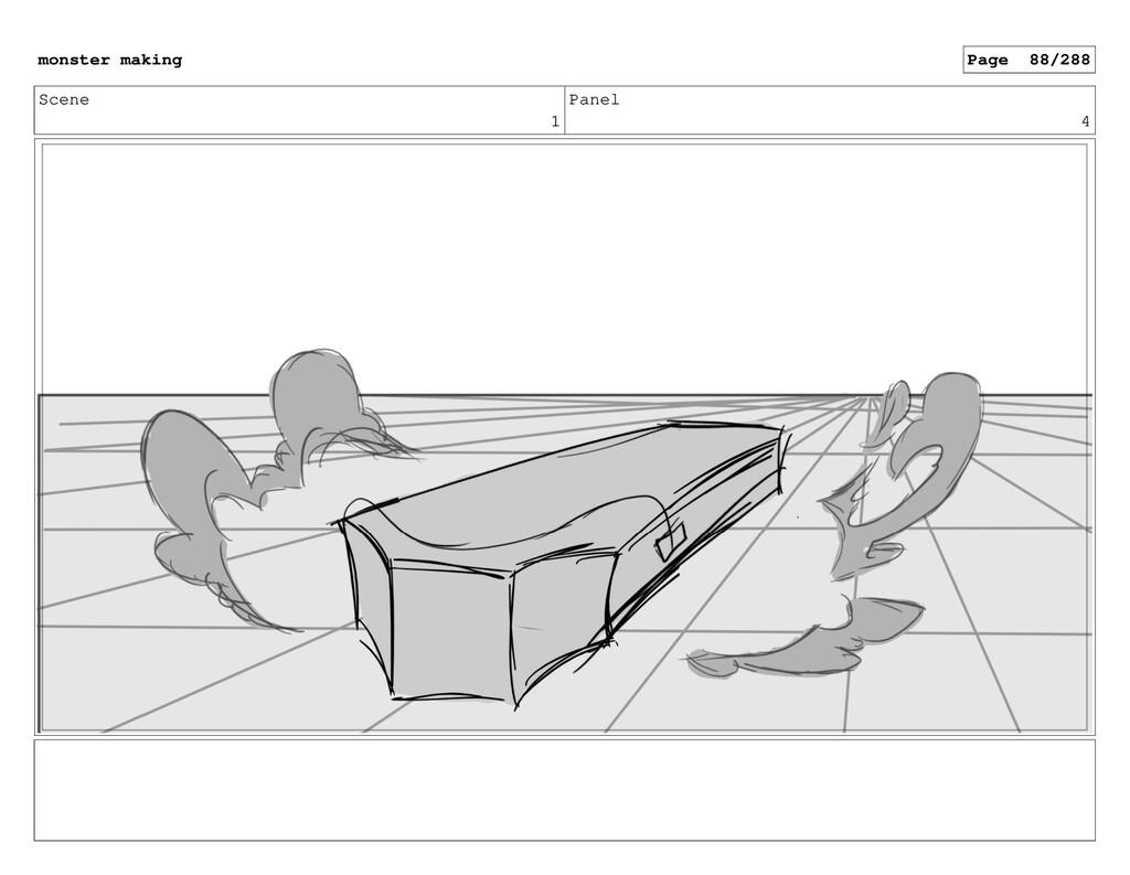 Scene 1 Panel 4 monster making Page 88/288