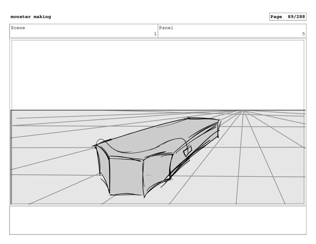 Scene 1 Panel 5 monster making Page 89/288