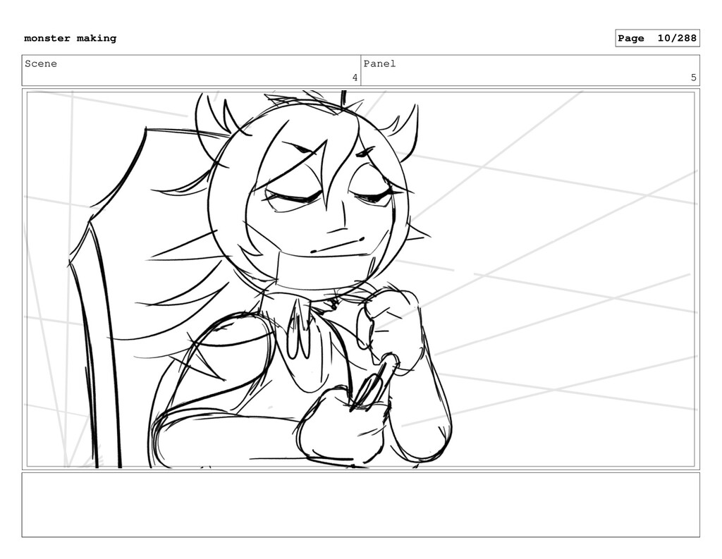 Scene 4 Panel 5 monster making Page 10/288