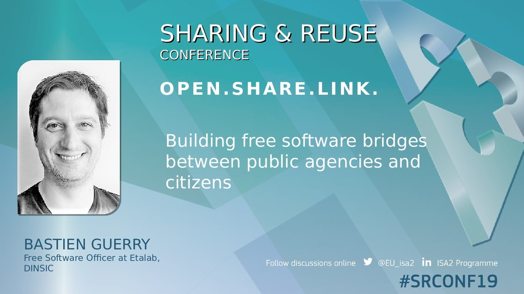 SHARING & REUSE SHARING & REUSE CONFERENCE CONF...